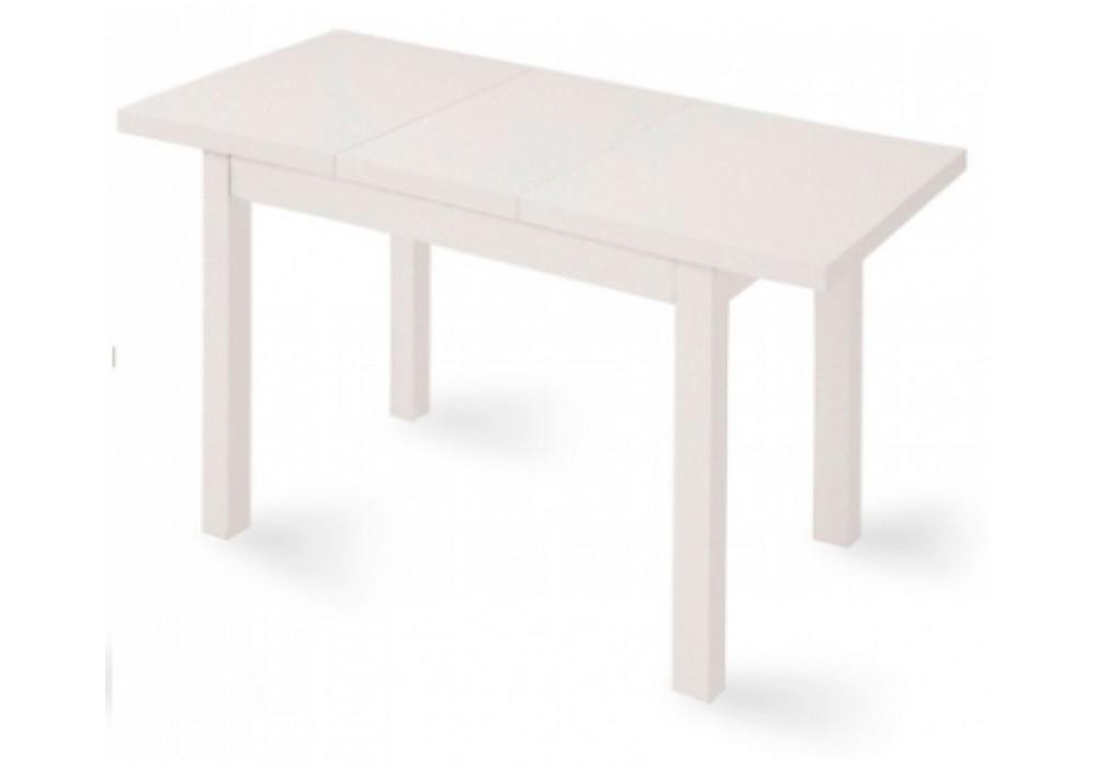 Стол раздвижной ONE 2, 1380(1930)*850*760, (белый мат)