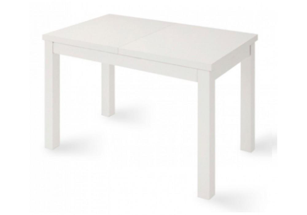 Стол раздвижной ONE (СОО), 1100(1490)*670*760, (белый мат)