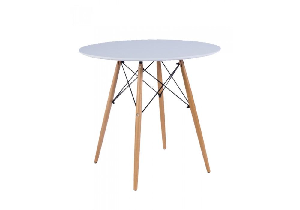 Стол LEILA, белый, 900*750