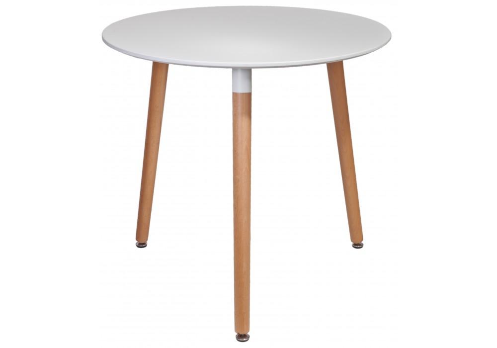 Стол TESTA CIRK,ф800*740, (белый)