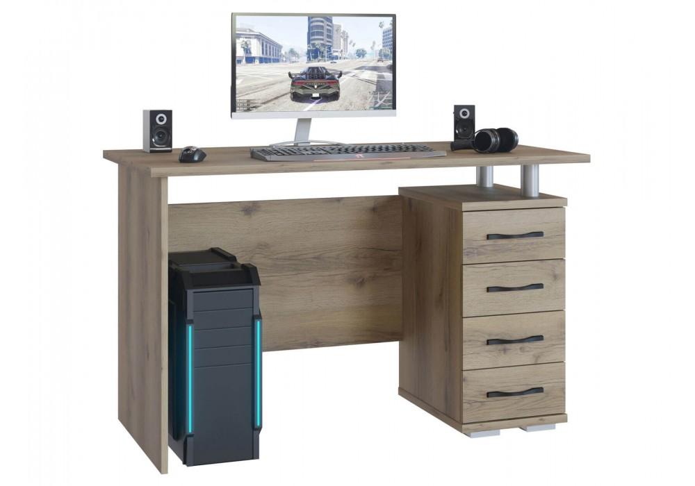 Стол компьютерный Сокол КСТ-106.1 дуб делано