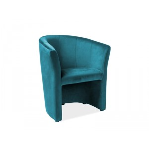 Кресло SIGNAL TM-1 VELVET Bluvel85, бирюзовый