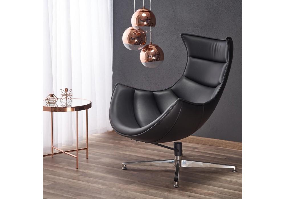 Кресло HALMAR LUXOR черный