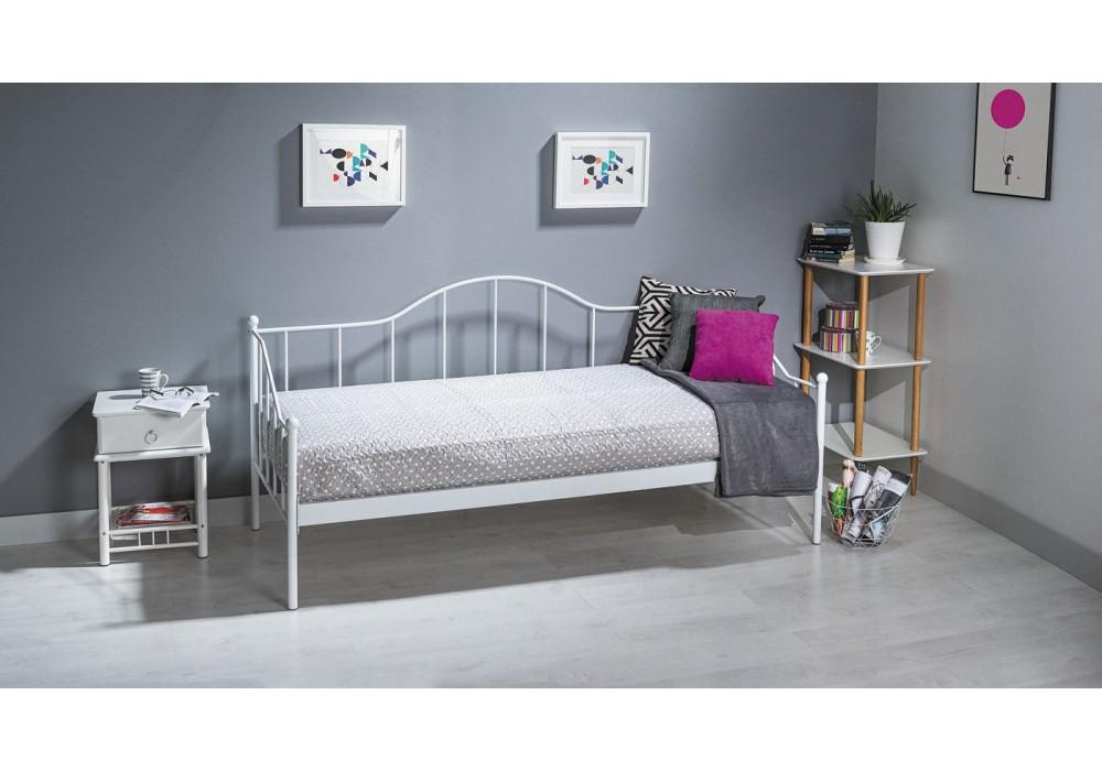 Кровать SIGNAL DOVER белая