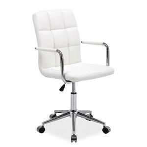Кресло компьютерное SIGNAL Q-022 белое