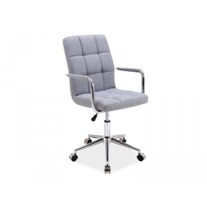Кресло компьютерное SIGNAL Q-022 серое\ткань