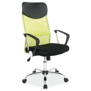 Кресло компьютерное SIGNAL Q-025 зелено\черное