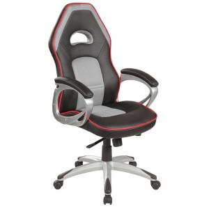 Кресло компьютерное SIGNAL Q-055 черно\серое