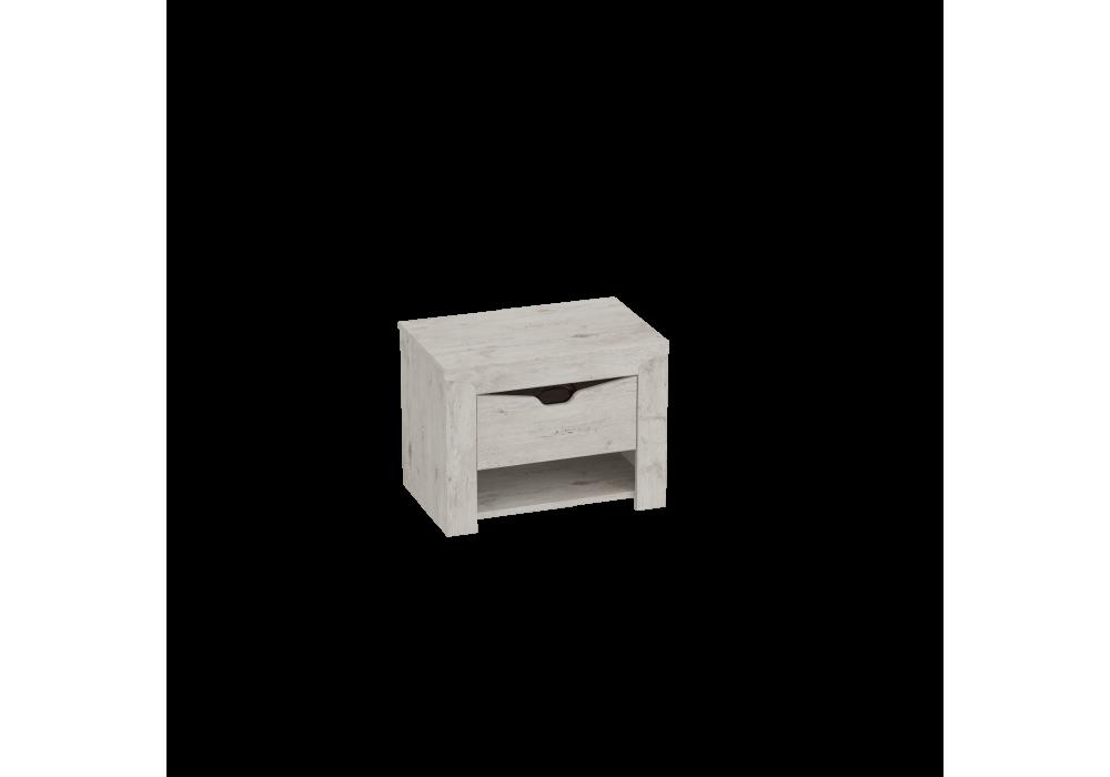 Тумба прикроватная МССоренто (дуб бонифаций/кофе структурный матовый)