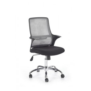Кресло компьютерное HALMAR AGEN серый/черный