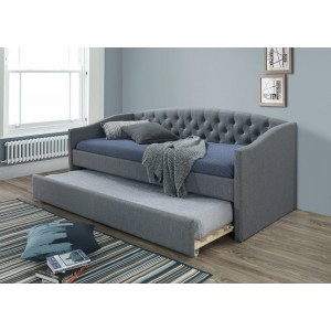Кровать SIGNAL ALESSIA серый/дуб, 90/200