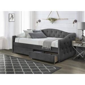 Кровать HALMAR ALOHA 90 серая
