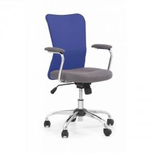 Кресло компьютерное HALMAR ANDY серо\синее