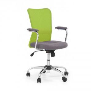 Кресло компьютерное HALMAR ANDY серо\зеленый