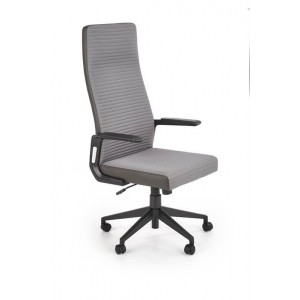 Кресло компьютерное HALMAR AREZZO серый/темно-серый
