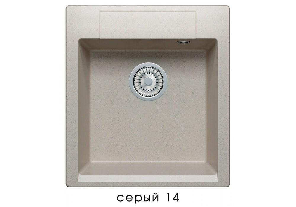 Мойка POLYGRAN ARGO-460 №14 серый