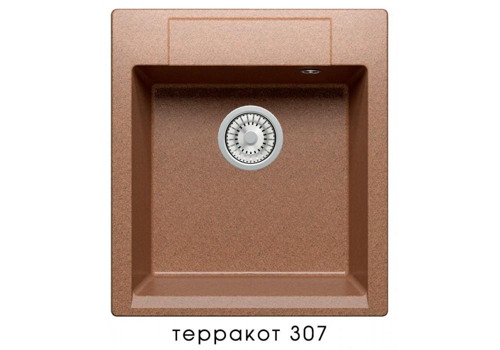 Мойка POLYGRAN ARGO-460 №307 терракот