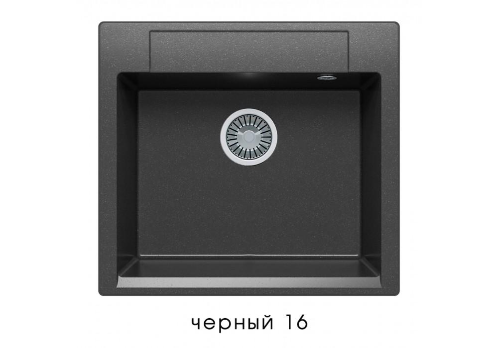 Мойка POLYGRAN ARGO-560 №16 черный
