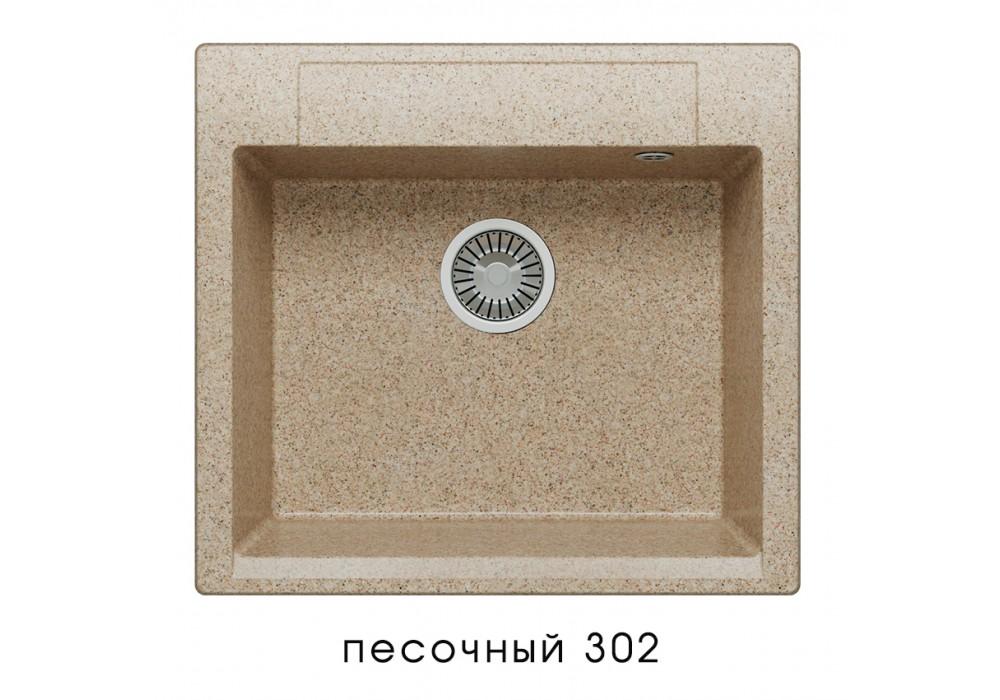 Мойка POLYGRAN ARGO-560 №302 песочный