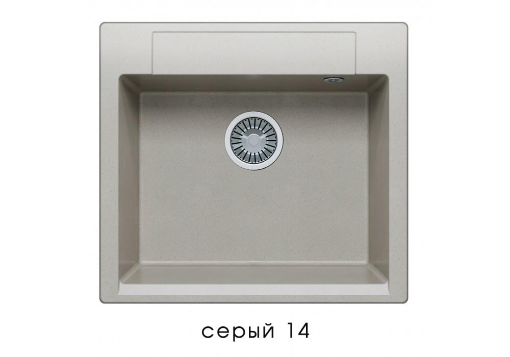 Мойка POLYGRAN ARGO-560 №14 серый