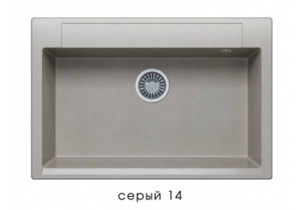 Мойка POLYGRAN ARGO-760 №14 серый