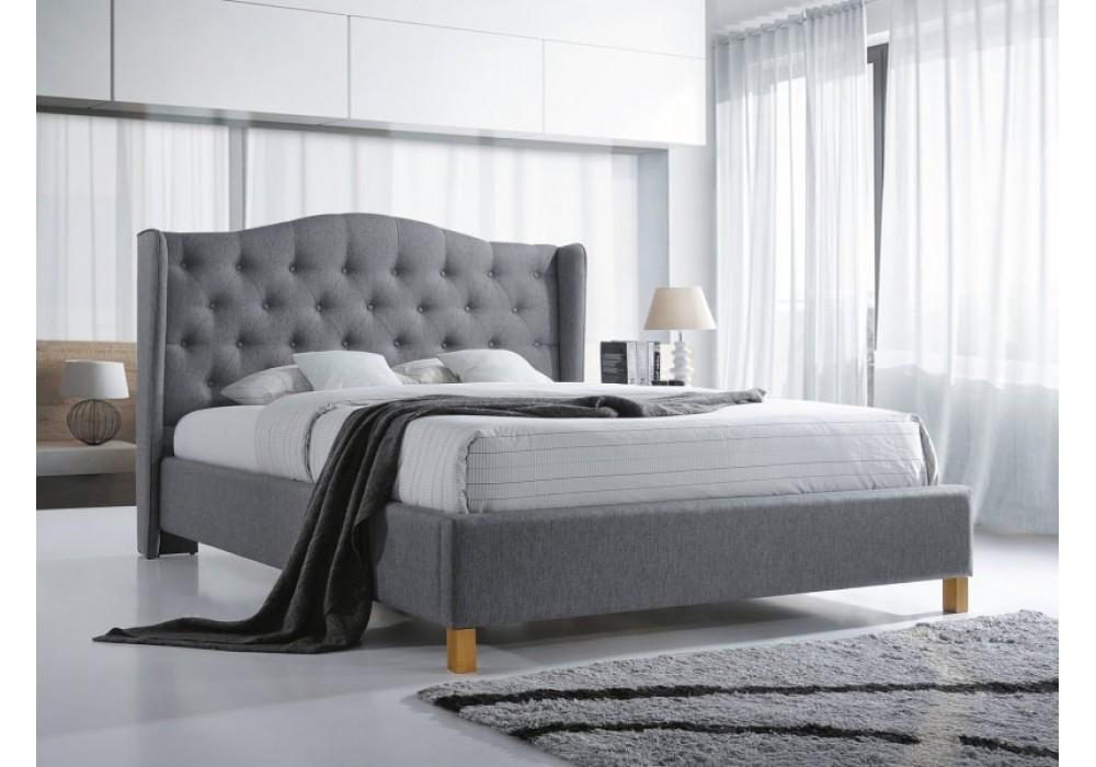 Кровать SIGNAL ASPEN серый, 140/200