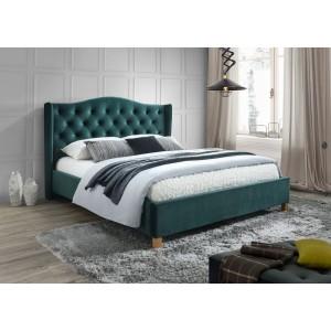 Кровать SIGNAL ASPEN VELVET зеленый, 160/200