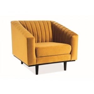 Кресло SIGNAL ASPREY 1 VELVET Bluvel68, карри