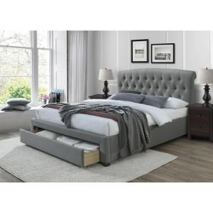 Кровать HALMAR AVANTI серый, 160/200