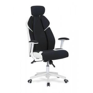 Кресло компьютерное HALMAR CHRONO черно\белый