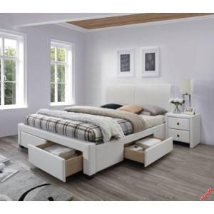 Кровать HALMAR MODENA 2 белая,160/200