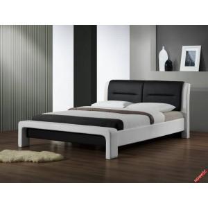 Кровать HALMAR CASSANDRA 120  бело\черная