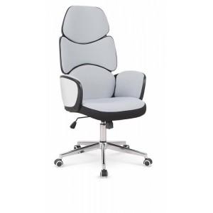 Кресло компьютерное HALMAR BARON черный/белый/светло-серый