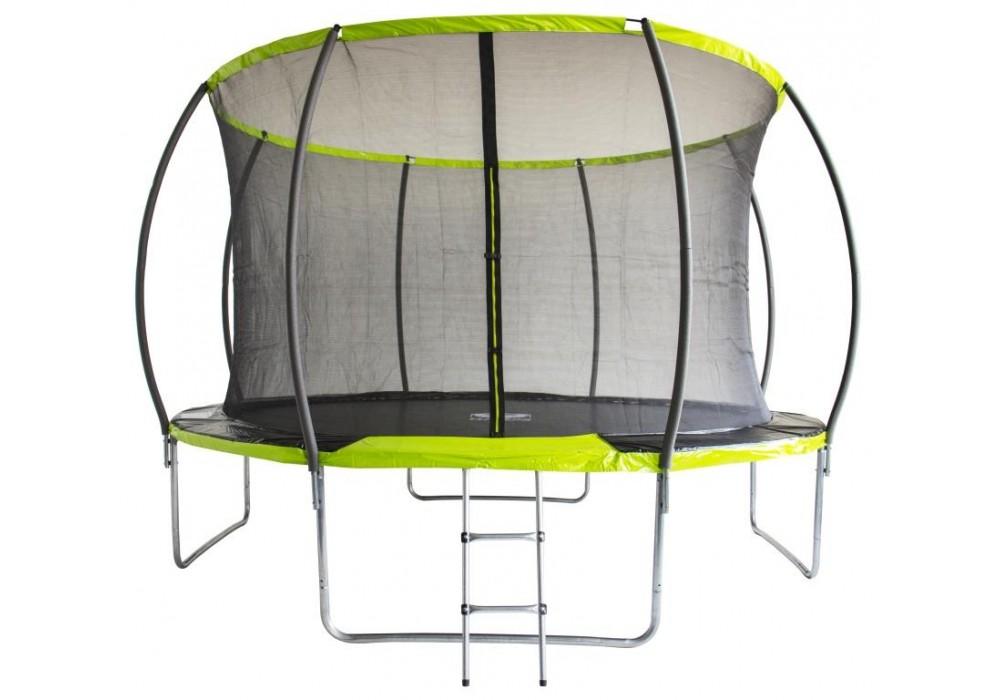 Батут Fitness Trampoline GREEN 12 FT Extreme Inside