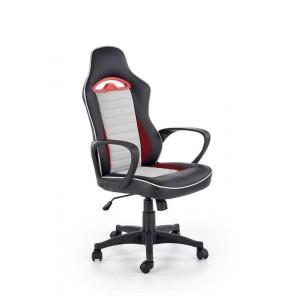 Кресло компьютерное HALMAR BERING черный/серый/красный