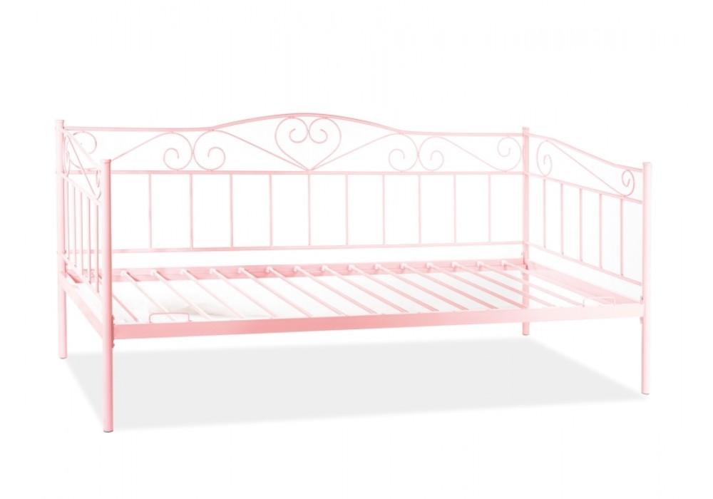 Кровать SIGNAL BIRMA розовая