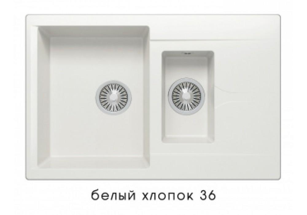 Мойка POLYGRAN BRIG-770 №36 белый хлопок