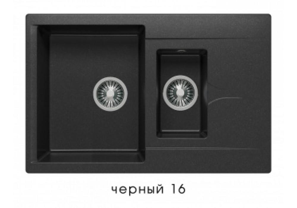 Мойка POLYGRAN BRIG-770 №16 черный