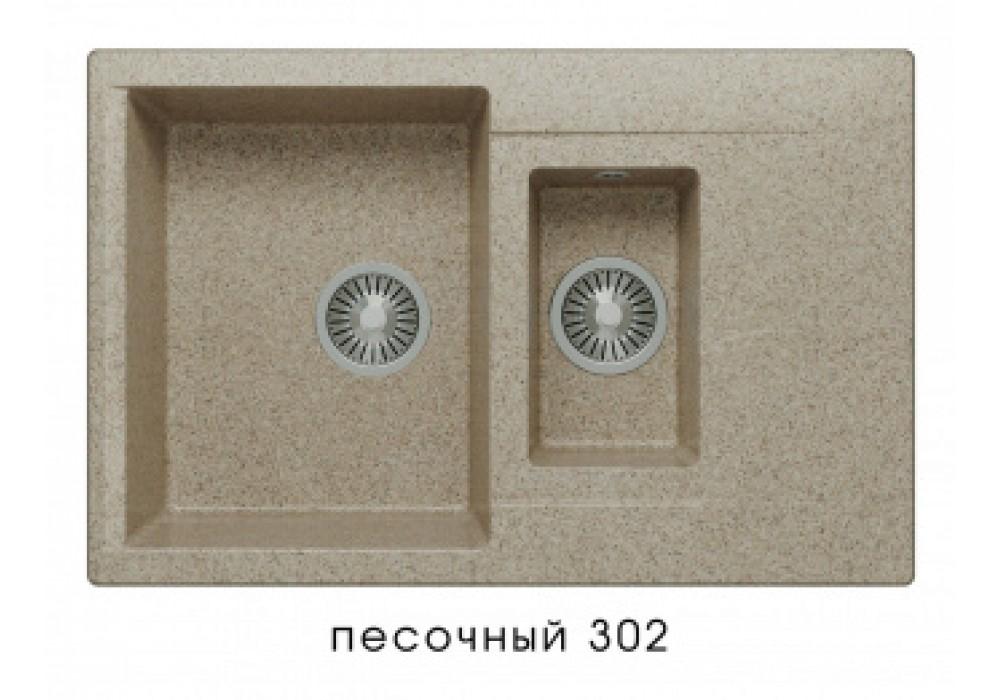 Мойка POLYGRAN BRIG-770 №302 песочный