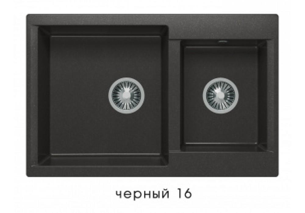 Мойка POLYGRAN BRIG-772 №16 черный
