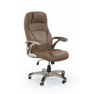Кресло компьютерное HALMAR CARLOS св.коричневый