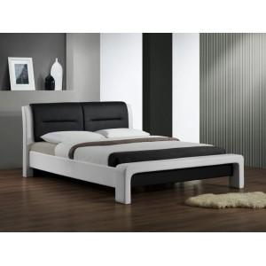 Кровать HALMAR CASSANDRA бело\черная