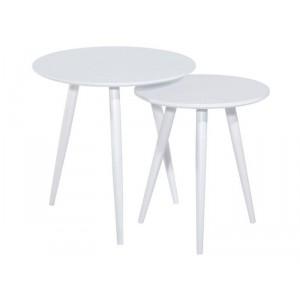 Комплект SIGNAL CLEO (2 стола журнальных) белый