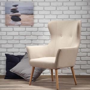 Кресло HALMAR COTTO бежевый