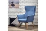 Кресло HALMAR COTTO синий