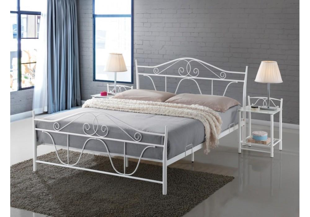Кровать SIGNAL DENVER белая 160/200