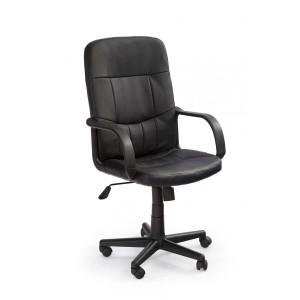 Кресло компьютерное HALMAR DENZEL экокожа, черное