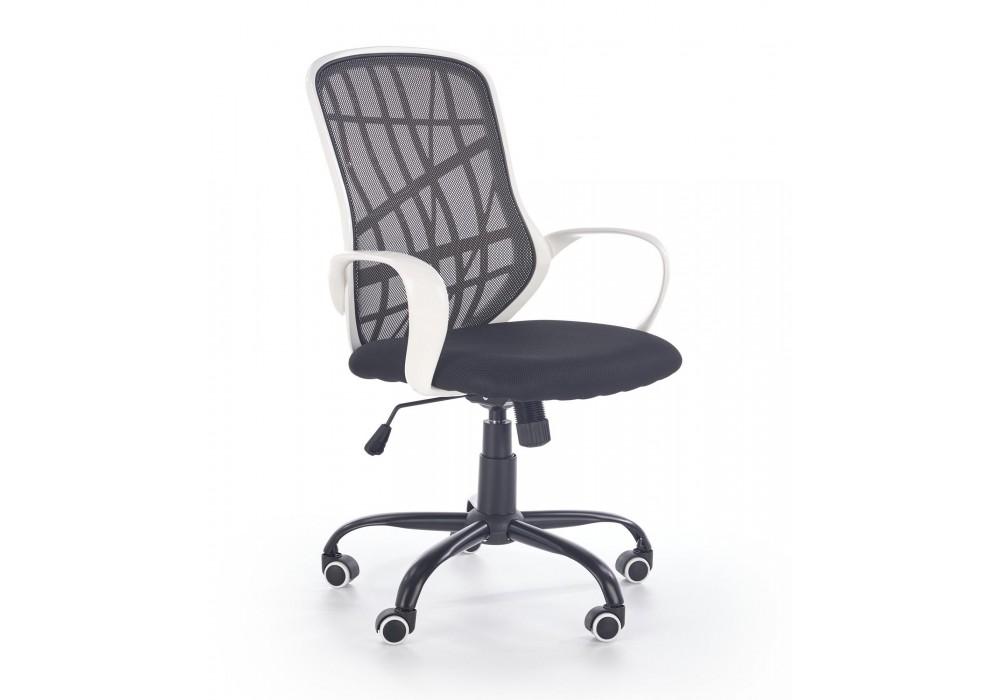 Кресло компьютерное HALMAR DESSERT белый/черный