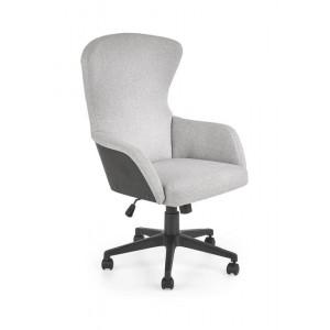 Кресло компьютерное HALMAR DOVER светло-серый/черный