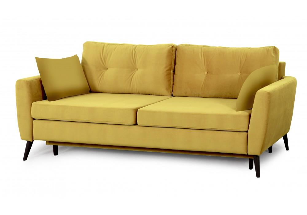 Диван-кровать Калгари - 2 (мора горчица/мора горчица)